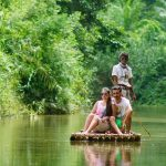 River Canoe or Bamboo Raft